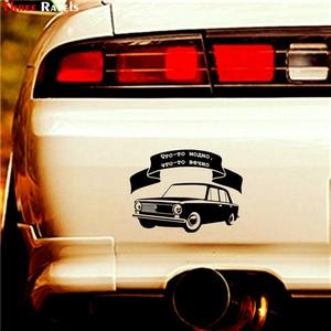 Image 3 - Trois Ratels TZ 1087 14.7*20cm 1 4 pièces voiture autocollant quelque chose est à la mode, quelque chose pour toujours drôle voiture autocollants auto décalcomanies