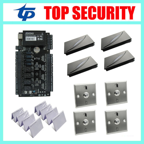 Водонепроницаемый интеллектуальная система контроля доступа карты система блокировки дверей с бесплатным программным обеспечением tcp / ip