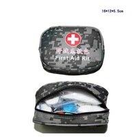 28 cái/bộ An Toàn Ngụy Trang Ngoài Trời Survival Travel Kit Viện Trợ Đầu Tiên Cắm Trại Đi Bộ Đường Dài Y Tế Bộ Dụng Cụ Khẩn Cấp Điều Trị Gói FAK-S10