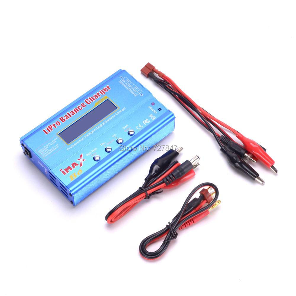 New iMAX B6 LCD Screen Digital RC Lipo NiMh Battery Balance Charger  (80W) ocday 1set imax b6 lipo nimh li ion ni cd rc battery balance digital charger discharger new sale