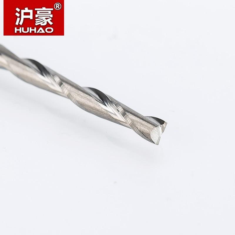 HUHAO 1tk 4mm 2 teraga spiraal teraga freeslõikur CNC otsaveski - Tööpingid ja tarvikud - Foto 2