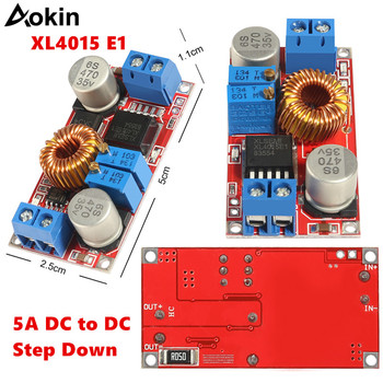 XL4015 E1 5A DC to DC CC CV Lithium Battery Step down Charging Board Led Power Converter Lithium Charger Step Down Module XL4015 image