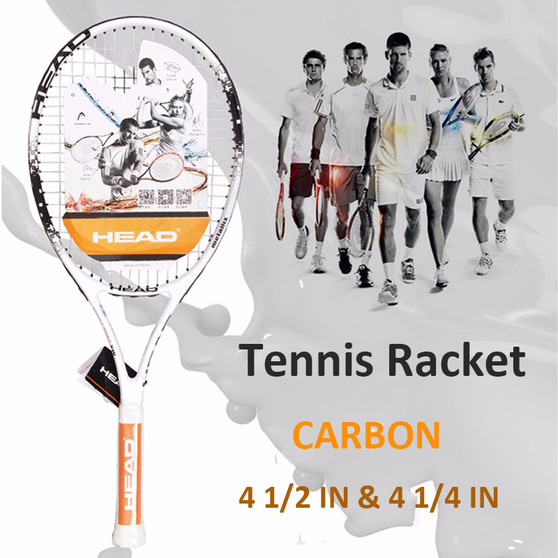 Top Quality Head Tennis Racket Beginner Female Male Sports Training Tennis Paddle Racquet With Overgrip Damper