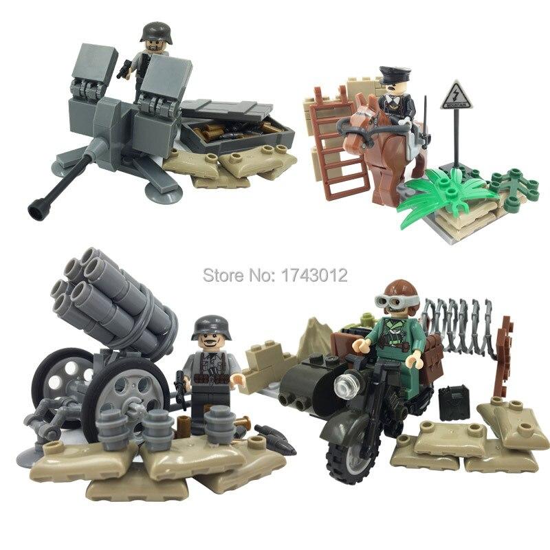 Doll D170 New Style Hot Sale Aggressive War Military War SWAT Building Block Bricks font b
