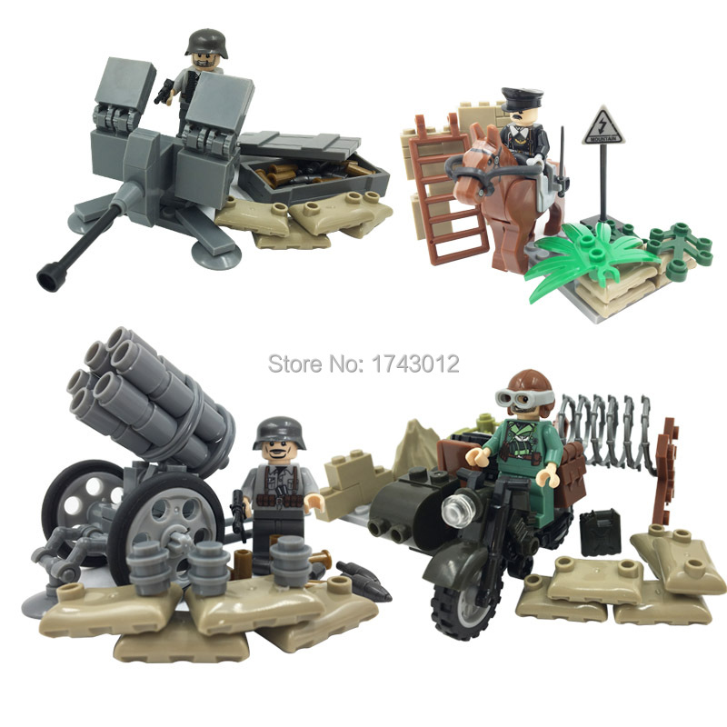 Doll D170 New Style Hot Sale Aggressive War Military War SWAT Building Block Bricks Toys Action Figure Kids Gift