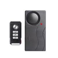 1 Set Home Security Vibration Alarm Standalone Working Wireless Remote Shock Detector Safe Box Cash