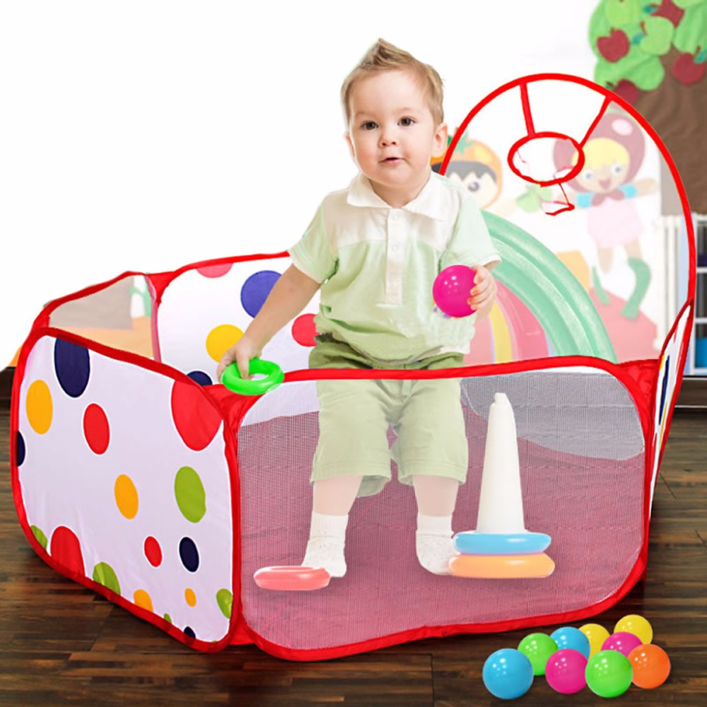 Childrens Tent Toy Ball Pool Princess Girls Castle Play