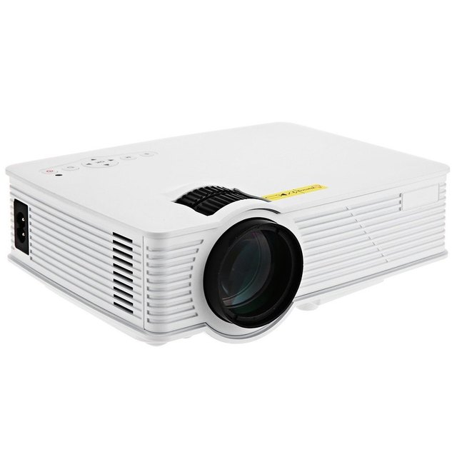 GP - 9 Mini Home Business Education Engineering Theater 800 Lumens 1080P  Multimedia HD HDMI USB LCD Video Digital Projector