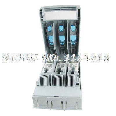 3 Pole Disconnect Isolating Switch Fuse Type 100A 400/660/500VAC 400 amp 3 pole cm1 type moulded case type circuit breaker mccb