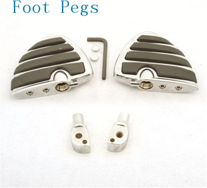 Aftermarket free shipping motorcycle parts For Motorcycle Suzuki Intruder 1400 1500 LC Boulevard S83 C90 Marauder 800 Wing Foot for suzuki intruder 1400 1500 lc boulevard s83 c90 marauder 800 wing motorcycle foot pegs motorcycle part