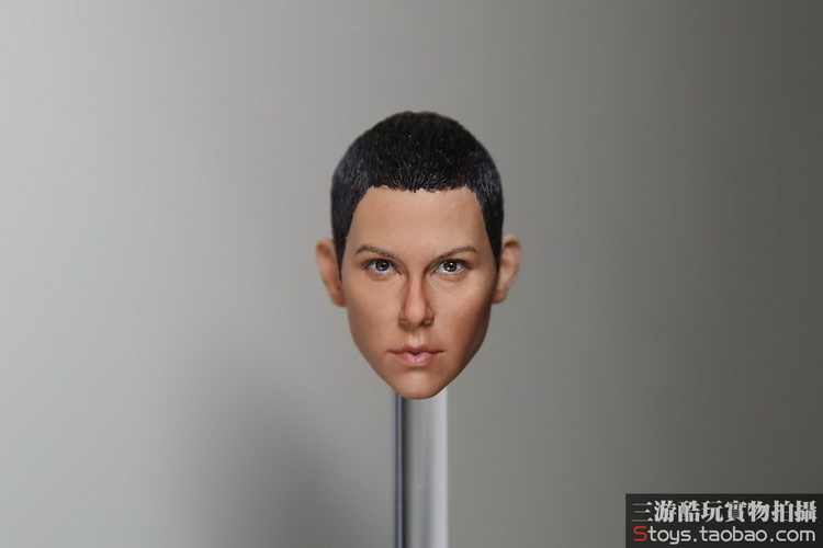 1/6 Female figure doll head shape for 12 Action figure doll accessories Mad Max 4 Furiosa Charlize Theron doll head carved