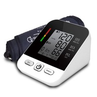 CK A158 Arm Sphygmomanometer Electronic Voice Digital LCD Blood Pressure Monitor