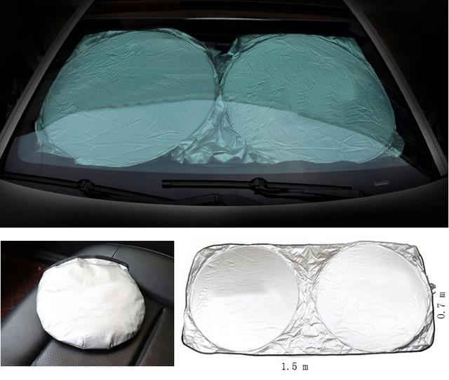 TTCR-II Front Windshield Rear Windshield Window Car Sunshade For Lexus  Emblem RX300 RX330 RX350 e453a50bab1