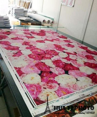 Valentine S Day Fl Flower Blossom Backdrop Art Fabric Newborn Pet Photography Wedding Background D 1639
