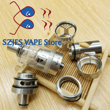 e-cigarette Hurricane V2 RTA 316 Stainless Steel 4ml Atomizer Adjustable Airflow RBA atomizer fit 510 vaporizer mod