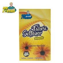 160 лист/коробка Mr. Strong бренд высокой емкости сушильный лист экологически смягчающий освежающий антистатический лист для смягчения ткани