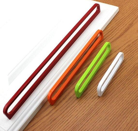 3 66 5 7 55 12 6 Modern Cabinet Pulls Knob Red White Door Handles Drawer Pulls Dresser Knobs Kitchen Cupboard Handle