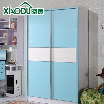 Children S Wardrobe Simple Sliding Doors Bedroom Furniture Door Closet 3