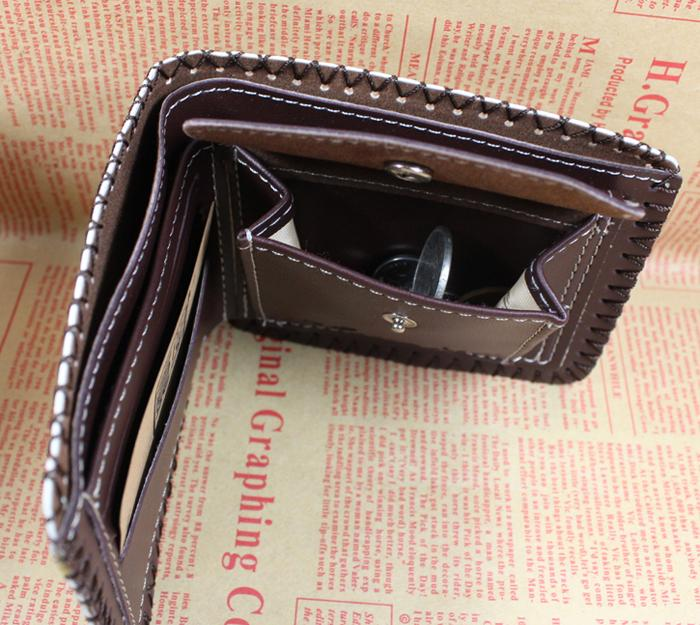 Fashion new men's wallets card holders and change pocket coins style designer purse wallet for men and students free shipping корм для кошек schesir с лососем в собственном соку 85 г упаковка из 14 шт