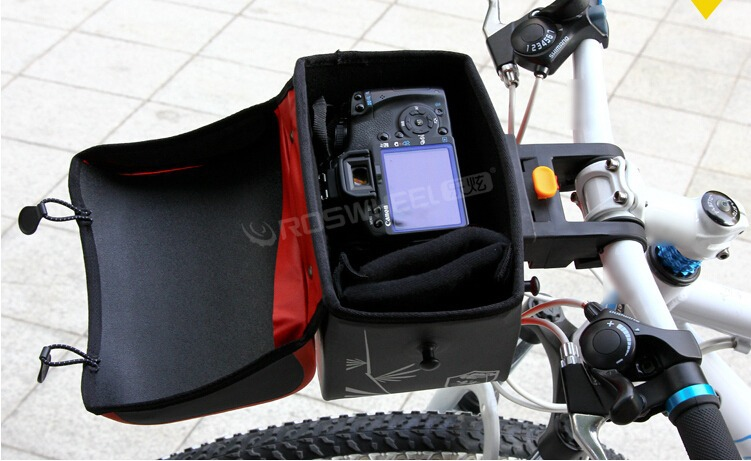 New Bike Bicycle High Quality Waterproof Handlebar Bag Camera Bags Shoulder Free Shipping In Panniers From Sports Entertainment On