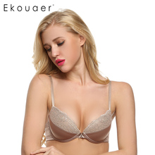 Ekouaer Women Bra Push