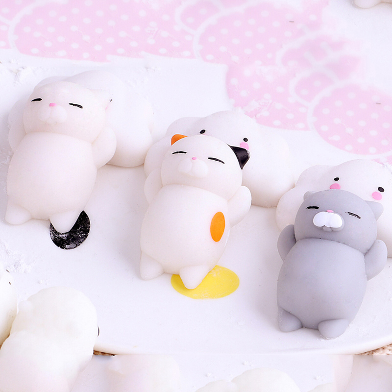 Funny Novelty Children Toys Stress Reliever Gift Decor Bag Accessories Sleeping Seal Squishy Squeeze Toy Cute Healing Collection Luggage & Bags