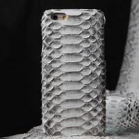 10pcs Luxury Original Python Skin Case For IPhone 6S IPhone 6 Snake Skin Genuine Leather Back