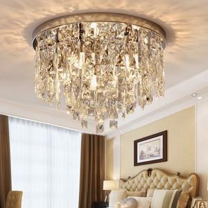 Image 5 - מודרני נברשת קריסטל תאורה סומק הר נברשות אור עבור עבור סלון אוכל חדר שינה אולם מסעדת מלון דקור