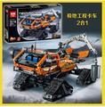 Nuevo 913 unids Lepin 20012 Grupo de La Aventura Polar Serie Técnica Mecánica Vehículo 2en1 Bloques de Construcción Ladrillos Juguetes 42038