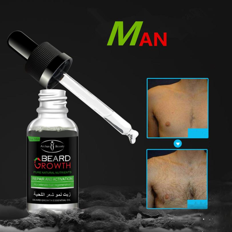 1 x beard repair growth solution Men Liquid Beard Growth Fast Enhance Facial Whiskers Nutrition Moustache Drop Shipping 1