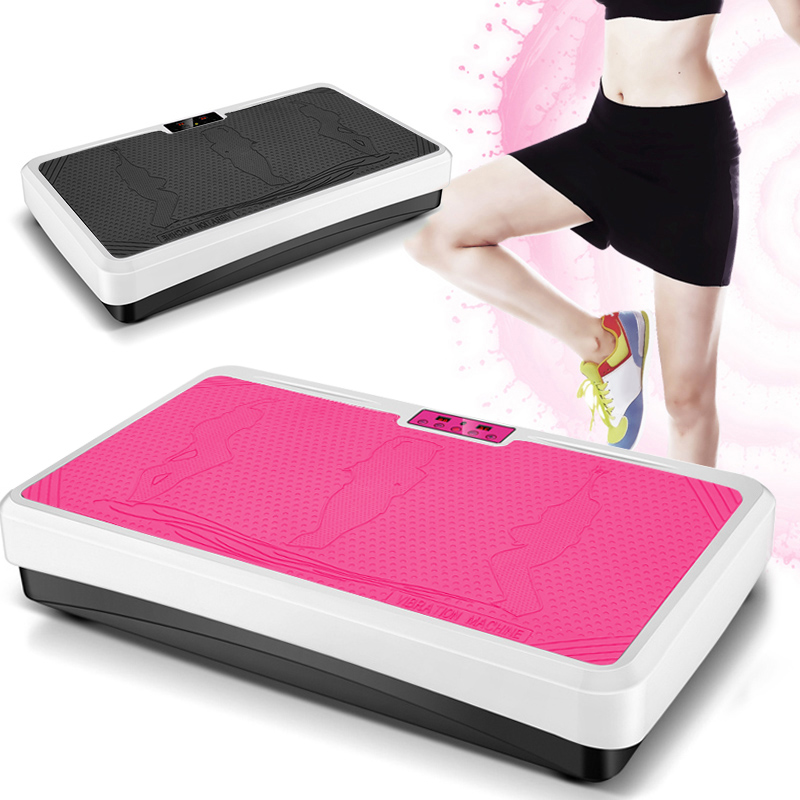 Fat Burning Vibration Fitness Massager Power Fit Vibration Plate Slim Body Weight Loss European Regulations Toiletry Kits HWC