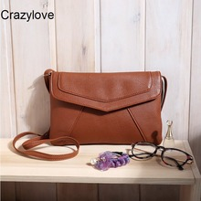 Crazylove New Girls Envelope Bag PU Leather-based Women Messenger Bag Purse Shoulder Crossbody Bag Purses Clutch Bolsas Femininas