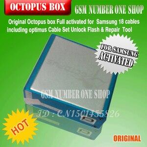 Image 5 - 100% Original nouvelle boîte de poulpe pour Samsung imei réparation et déverrouillage avec 18 câbles