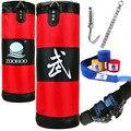 100 cm entrenamiento Fitness MMA Boxer bolsa de Boxeo gancho bolsa colgante deporte arena perforadora Saco de arena Boxeo