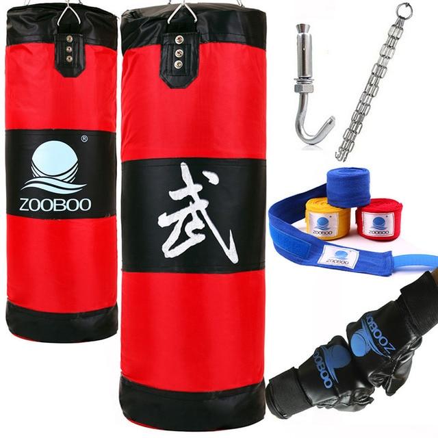 100cm Training Fitness Mma Fighter Boxing Bag Hook Hanging Sport Sand Punch Punching Sandbag