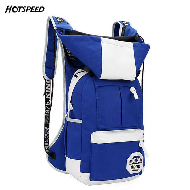 Fashion Boys girls school bags orthopedic backpack with hat high quality college bag for men women mochila infantil bolsas