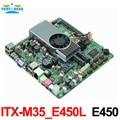 Motherboard E450 Dual Core 1.65 GHz com HDMI/VGA/LVDS ITX-M35_E450L VERSAO: 2.0