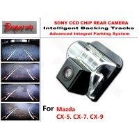 for Mazda CX 5 CX 7 CX 9 CX 5 CX 7 CX 9 CCD Car Backup Parking Camera Intelligent Tracks Dynamic Guidance Rear View Camera