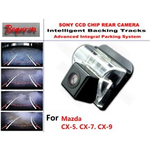 for Mazda CX-5 CX-7 CX-9 CX 5 CX 7 CX 9 CCD Car Backup Parking Camera Intelligent Tracks Dynamic Guidance Rear View Camera