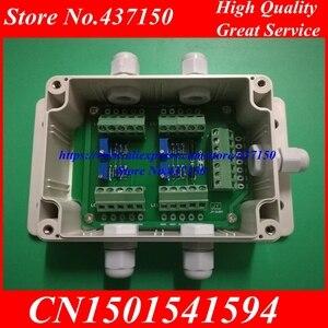 Image 1 - Caixa de junção da pilha de carga/sensor de peso quatro em uma linha 5 o da caixa eletrônica do medidor de carga
