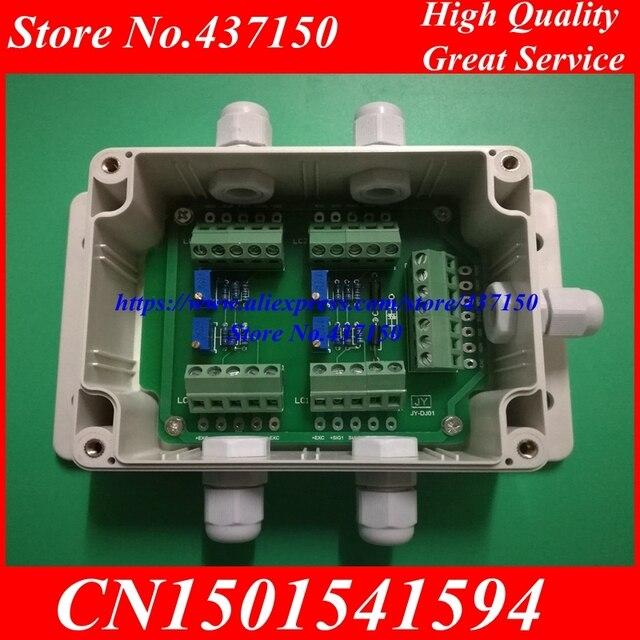 Caixa de junção da pilha de carga/sensor de peso quatro em uma linha 5 o da caixa eletrônica do medidor de carga