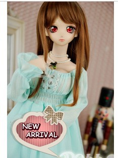 Sunny Girl Chiffon Dress 4colors for BJD 1/3DD DY SD16 Free Sock+Necklace Doll Clothes CW30 цена