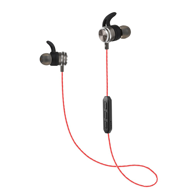 RT2 Bluetooth Wireless Earphone Metal magnet Earbuds Handsfree with Mic Sport Yoga Earpiece outdoor Headset headphones for Phone marsnaska wireless handsfree headphones stereo earphone bluetooth headset single channel mic earpiece for samsung hm7000