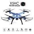 SYMA X5HC Drohne 2.0MP HD Câmera Aviao Drones RC Quadcopter Sem Cabeça modo de Alta Função de Modo de Espera 2.4 GHz 4CH 6 Eixos Giroscópio Zangão