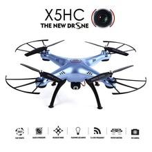 СЫМА X5HC Drohne 2.0MP HD Камера Aviao Дронов RC Quadcopter Без Головы режим Высокой Удержания Режим Функция 2.4 ГГц 4CH 6 Оси Гироскопа Drone