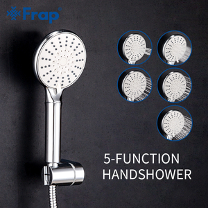 Image 1 - Frap 5 Mode Handheld Water Saving Shower Head Set Bathroom Spray ABS Pressurized Bathroom Shower With Holder & Hose IF306