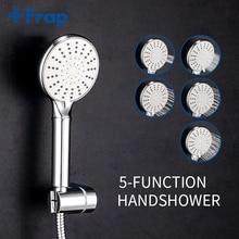 Frap 5 Modus Handheld Wasser Sparen Dusche Kopf Set Bad Spray ABS Druck Bad Dusche Mit Halter & Schlauch IF306