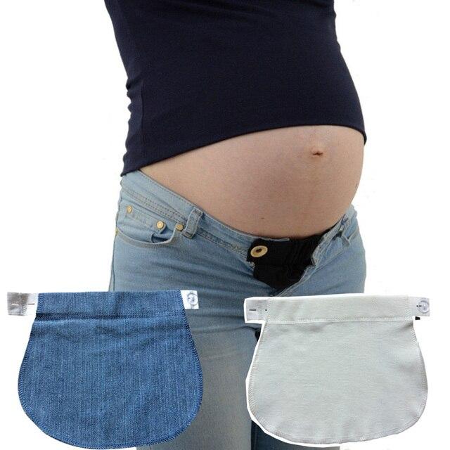 427ac22ef 1 pieza unids extensor de la cintura del embarazo pantalones cinturón de la  cintura del embarazo
