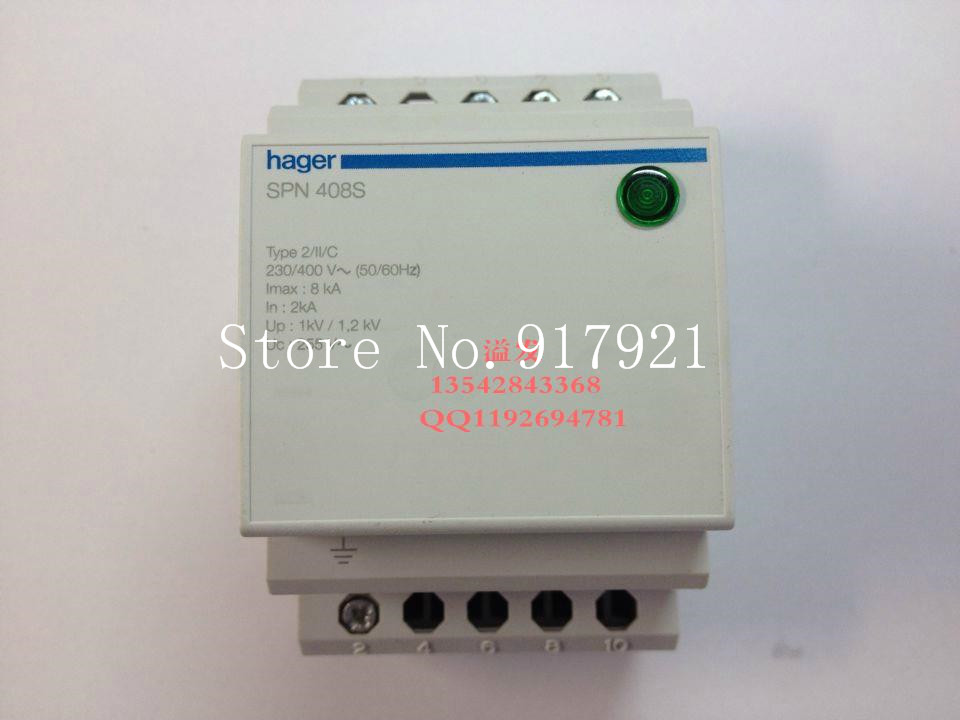 [ZOB] Hagrid SPN408S surge protection device 4 8KA T2 grade imported 3P+N lightning surge