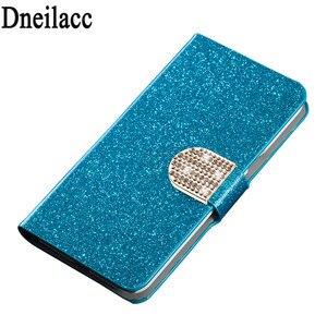 Dneilacc роскошный высококачественный кожаный магнитный чехол-книжка с подставкой для мобильного телефона Samsung Galaxy A8 Star A9 Star